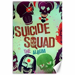 Panic! At The Disco Suicide Squad The Album Canvas 12  X 18   by Onesevenart