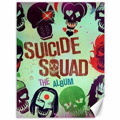 Panic! At The Disco Suicide Squad The Album Canvas 36  X 48   by Onesevenart