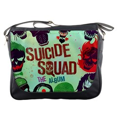 Panic! At The Disco Suicide Squad The Album Messenger Bags by Onesevenart