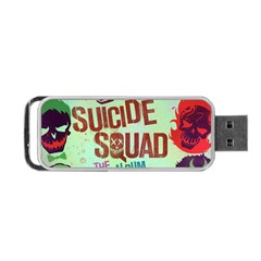 Panic! At The Disco Suicide Squad The Album Portable Usb Flash (one Side) by Onesevenart