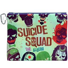 Panic! At The Disco Suicide Squad The Album Canvas Cosmetic Bag (xxxl) by Onesevenart