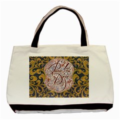 Panic! At The Disco Basic Tote Bag (two Sides) by Onesevenart