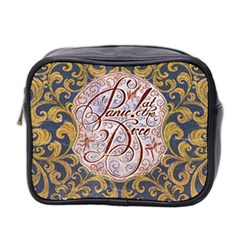 Panic! At The Disco Mini Toiletries Bag 2 Side by Onesevenart