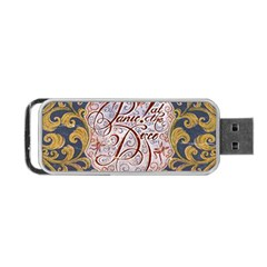 Panic! At The Disco Portable Usb Flash (two Sides) by Onesevenart