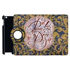 Panic! At The Disco Apple Ipad 3/4 Flip 360 Case by Onesevenart
