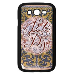 Panic! At The Disco Samsung Galaxy Grand Duos I9082 Case (black) by Onesevenart