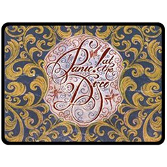 Panic! At The Disco Double Sided Fleece Blanket (large)  by Onesevenart