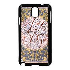 Panic! At The Disco Samsung Galaxy Note 3 Neo Hardshell Case (black) by Onesevenart