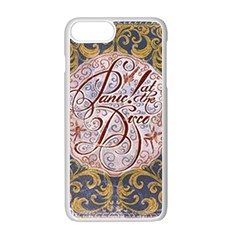 Panic! At The Disco Apple Iphone 7 Plus White Seamless Case by Onesevenart
