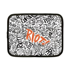 Paramore Is An American Rock Band Netbook Case (small)  by Onesevenart