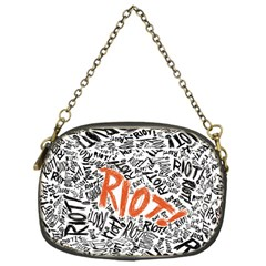 Paramore Is An American Rock Band Chain Purses (one Side)  by Onesevenart