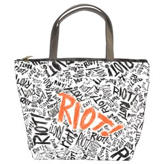 Paramore Is An American Rock Band Bucket Bags by Onesevenart