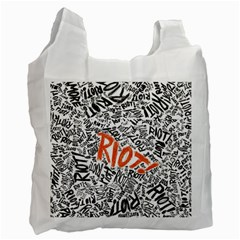 Paramore Is An American Rock Band Recycle Bag (two Side)  by Onesevenart