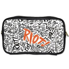 Paramore Is An American Rock Band Toiletries Bags by Onesevenart