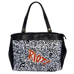 Paramore Is An American Rock Band Office Handbags by Onesevenart