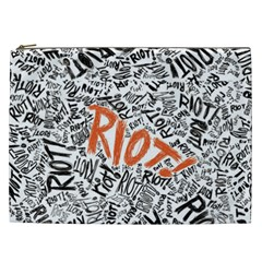 Paramore Is An American Rock Band Cosmetic Bag (xxl)  by Onesevenart