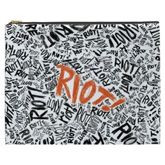 Paramore Is An American Rock Band Cosmetic Bag (xxxl)  by Onesevenart