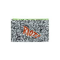 Paramore Is An American Rock Band Cosmetic Bag (xs) by Onesevenart