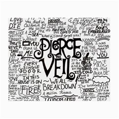 Pierce The Veil Music Band Group Fabric Art Cloth Poster Small Glasses Cloth by Onesevenart