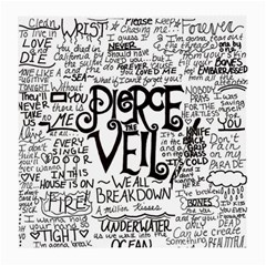 Pierce The Veil Music Band Group Fabric Art Cloth Poster Medium Glasses Cloth by Onesevenart