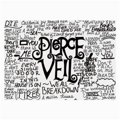 Pierce The Veil Music Band Group Fabric Art Cloth Poster Large Glasses Cloth by Onesevenart