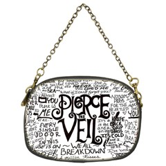 Pierce The Veil Music Band Group Fabric Art Cloth Poster Chain Purses (two Sides)  by Onesevenart