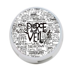 Pierce The Veil Music Band Group Fabric Art Cloth Poster 4 Port Usb Hub (one Side) by Onesevenart