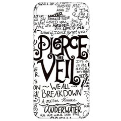 Pierce The Veil Music Band Group Fabric Art Cloth Poster Apple Iphone 5 Classic Hardshell Case by Onesevenart