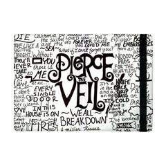 Pierce The Veil Music Band Group Fabric Art Cloth Poster Apple Ipad Mini Flip Case by Onesevenart
