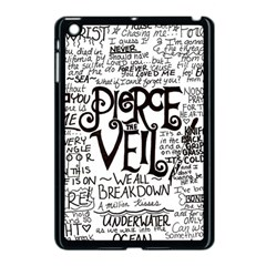 Pierce The Veil Music Band Group Fabric Art Cloth Poster Apple Ipad Mini Case (black) by Onesevenart