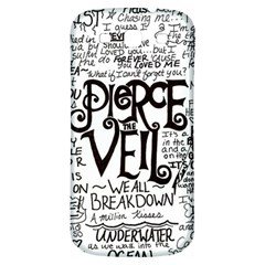 Pierce The Veil Music Band Group Fabric Art Cloth Poster Samsung Galaxy S3 S Iii Classic Hardshell Back Case by Onesevenart
