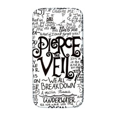 Pierce The Veil Music Band Group Fabric Art Cloth Poster Samsung Galaxy S4 I9500/i9505  Hardshell Back Case by Onesevenart