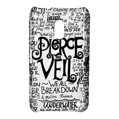 Pierce The Veil Music Band Group Fabric Art Cloth Poster Nokia Lumia 620 by Onesevenart