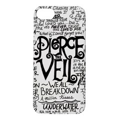 Pierce The Veil Music Band Group Fabric Art Cloth Poster Apple Iphone 5s/ Se Hardshell Case by Onesevenart