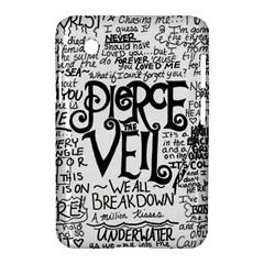 Pierce The Veil Music Band Group Fabric Art Cloth Poster Samsung Galaxy Tab 2 (7 ) P3100 Hardshell Case  by Onesevenart
