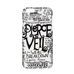 Pierce The Veil Music Band Group Fabric Art Cloth Poster Apple Iphone 6/6s Hardshell Case by Onesevenart