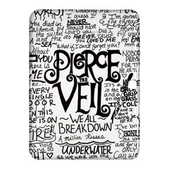 Pierce The Veil Music Band Group Fabric Art Cloth Poster Samsung Galaxy Tab 4 (10 1 ) Hardshell Case  by Onesevenart