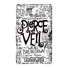 Pierce The Veil Music Band Group Fabric Art Cloth Poster Samsung Galaxy Tab S (8 4 ) Hardshell Case  by Onesevenart