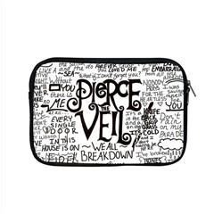 Pierce The Veil Music Band Group Fabric Art Cloth Poster Apple Macbook Pro 15  Zipper Case by Onesevenart