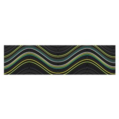 Abstraction Satin Scarf (oblong) by Valentinaart