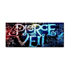 Pierce The Veil Quote Galaxy Nebula Cosmetic Storage Cases by Onesevenart