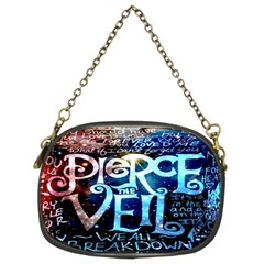 Pierce The Veil Quote Galaxy Nebula Chain Purses (two Sides)  by Onesevenart