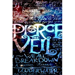 Pierce The Veil Quote Galaxy Nebula 5 5  X 8 5  Notebooks by Onesevenart
