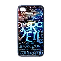Pierce The Veil Quote Galaxy Nebula Apple Iphone 4 Case (black) by Onesevenart