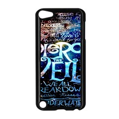 Pierce The Veil Quote Galaxy Nebula Apple Ipod Touch 5 Case (black) by Onesevenart