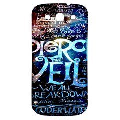 Pierce The Veil Quote Galaxy Nebula Samsung Galaxy S3 S Iii Classic Hardshell Back Case by Onesevenart
