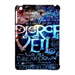 Pierce The Veil Quote Galaxy Nebula Apple Ipad Mini Hardshell Case (compatible With Smart Cover) by Onesevenart
