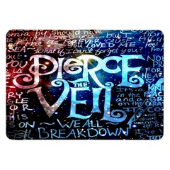 Pierce The Veil Quote Galaxy Nebula Samsung Galaxy Tab 8 9  P7300 Flip Case by Onesevenart