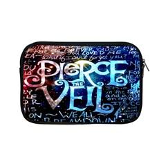 Pierce The Veil Quote Galaxy Nebula Apple Ipad Mini Zipper Cases by Onesevenart