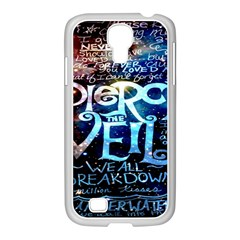 Pierce The Veil Quote Galaxy Nebula Samsung Galaxy S4 I9500/ I9505 Case (white) by Onesevenart
